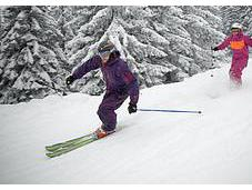 Tips Skiing Steep Narrow