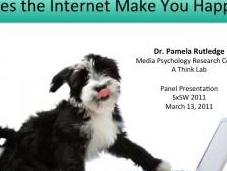 From SxSW Panel: Does Internet Make Happy?