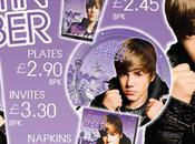 Justin Bieber Party Range from Options