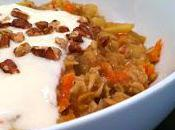 Carrot Cake Oatmeal, Take