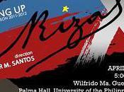 Auditions Dulaang UP's Rizal Directed Dexter Santos