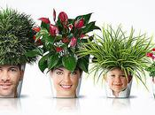 Funny Creative Flower Pots