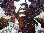 Jimi Hendrix Portrait with 5000 Guitar Picks
