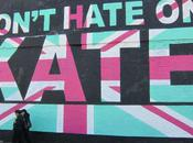 """""""Don't Hate Kate"""" Mural Monorex"""