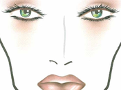 Face Charts:MAC COSMETICS:MAC COSMETICS QUITE CUTE COLLECTION PLAYING FACE CHART