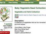 Billion Acts Green with Baby Veggies Little Gardeners
