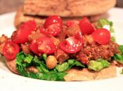 Curried Chickpea Quinoa Flatbread
