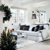 Winter White Interior Decorating