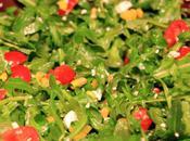 Arugula, Corn Tomato Salad