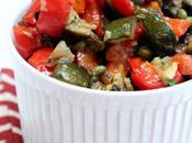 Food: Roasted Vegetable Ratatouille.