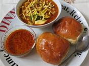 Kolhapuri Misal (Spicy Tomato Stew with Sprouts)