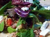 Mediterranean Tuna Wraps with Feta Avocado