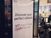 {No7 Colour Matching Lipstick Service}