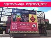 Celebrating Hispanic Heritage with Visit Contemporary Latino Exhibit Open Until September 26th!