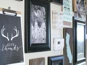 Gallery Wall Update Quick Trick Hanging Picture Frames