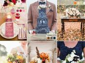Color Palettes Fall Wedding