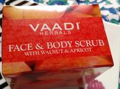 Vaadi Herbals Face Body Scrub with Walnut Apricot