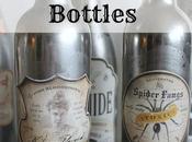 Mercury Glass Poison Bottles