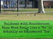 """Bold Stories: Building Boundaries When What Looks Like """"No"""" Actually Very Healthy"""
