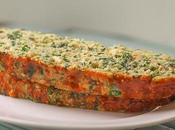 Chicken Meatloaf with Spinach Feta Cheese
