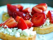 Good Morning Treat: Strawberry Bruschetta