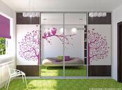 Purple Green Little Girls Room