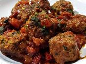 Spicy Meat Ball Rich Tomato Sauce
