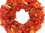 Autumn Wreath Orange Fantasy! Shop! Starting Wi...