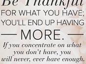 QOTD: Thankful...