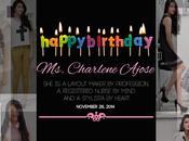 Happy Birthday Charlene Ajose