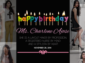 Happy Birthday Charlene Ajose