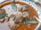 Lamb Spezzatino from Molise Gorgeous Stew with Rosemary Sage
