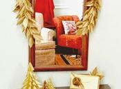 Beautiful Gold Paper Holiday Garland