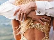 Sheena Andy. BREATHTAKING Sparkly!) Engagement Wedding Inspiration Larvara O'Hanlon Photography
