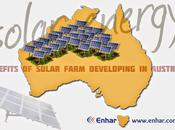 Benefits Solar Farm Developing Australia