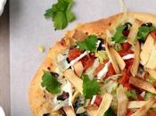 Taco Pizza (Vegetarian Recipe)