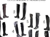Real Leather Over Knee Boots Under $160