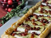 Cranberry Brie Tart with Pancetta Thyme