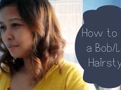 Bob/Long Hairstyle