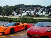 Ultimate Drive Singapore: Revving Ferrari Lamborghini