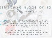 Best Sewing Blogs 2015: Runoff