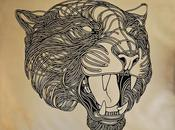 Intricately-Detailed Paper Animals Mimic Ink-Drawn Lines