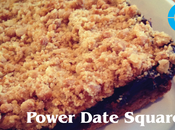 Recipes: Power Date Squares Breakfast/Snack