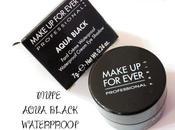 MUFE Aqua Black Waterproof Cream Eyeshadow Photos, Details Thoughts