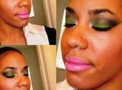 Makeup Look Smoky Green Eyes Pink Lips