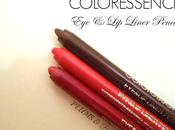 Coloressence Waterproof Liner Pencil Wine Shine, Fuschia Pink, Purplish Rose Review, Swatches, Price