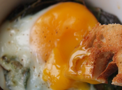 Make Baked Eggs with Swiss Chard