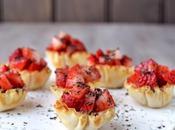 Strawberry Tartlets (Valentine's Recipe)