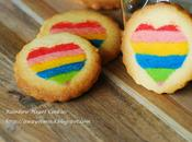 Valentine Rainbow Heart Cookies 情人节心型采红曲奇