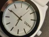 Vierra White Sports Watch